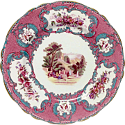 Beautiful Spode Queen Mary #R4434 Dinner Plate