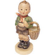 "Adorable Hummel ""Village Boy"" Figurine TMK3"