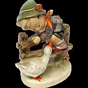 "Adorable Hummel ""Barnyard Hero"" Figurine TMK 4"