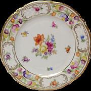 Schumann Empress Dresden Flowers Salad Plate