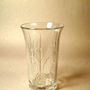 Pair Rare Heisey PLANTATION-Pressed Highball Glasses