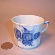 Royal Copenhagen Blue Flower Demitasse Cup Only