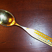 A Michelsen, Denmark 1960 Winter Solstice Christmas Spoon
