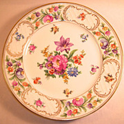 Schumann Old Dresden Dinner Plate