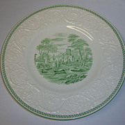 Wedgwood Torbay Green Dinner Plate