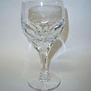 Gorham Sonja Crystal Wine Goblet