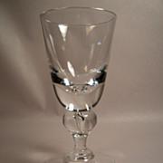 SALE Fine Steuben 7877 Baluster Stem Water Goblet