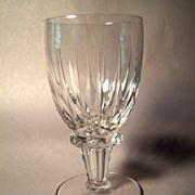 Beautiful Royal Leerdam RONDO Crystal  Water Goblet