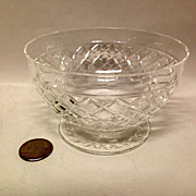 Rare  Seneca Crystal #9936 Footed Desserts