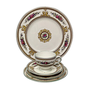 Wedgwood Columbia W595  5-Piece Place setting