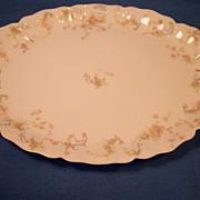 """Haviland """"Princess"""" Schleiger 57B Medium Oval Platter"""