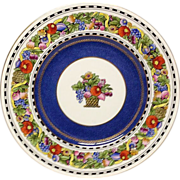 Set (12) Fabulous Wedgwood Manilla W333 Dinner Plates