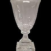 Carder Era Steuben  Water Goblet Shape #7238