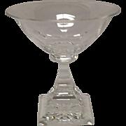 Carder Era Steuben Champagne Sherbet, Shape #7238