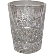 Waterford Lismore Double Old Fashion, Fluted Base