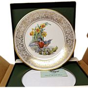 Lenox Boehm Bird Collector Series Robin Plate