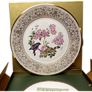 Lenox Boehm Bird Collector Series American Redstart Plate