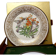 Lenox Boehm Bird Collector Series Eastern Phoebe Plate