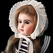 Jumeau 1907 Antique Child Doll - 22 Inch, walking body
