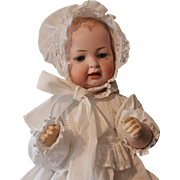 SOLD Hertel, Schwab & Company - German No. 142/Size 11/antique baby doll - 20 inches with exqu