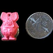 SALE RAT FINK Ring for child 1960's 1970's toy ring hotrod mouse rat
