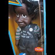 "1985 Remco 22"" Bill Cosby Fat Albert and the Cosby Kids doll MIB"