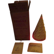 """Econolite 1950's motion lamp Christmas tree with box 12"""" size"""