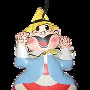 SALE RARE Rushton Company advertising elf clown vinyl doll
