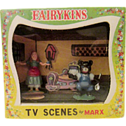 Miniature in original box MARK fairy-kins Goldilocks