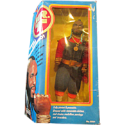 Mr. T 1983 B.A. Baracus doll from TV series by Galoob complete