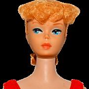 Vintage Barbie Blonde Ponytail Doll