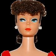 Vintage Barbie Brunette Ponytail Doll