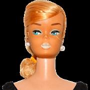 Vintage Barbie Platinum Swirl Ponytail