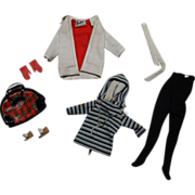 SALE Vintage Barbie Complete Winter Holiday Outfit