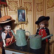 Three English Metal Pots