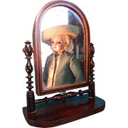 SALE Miniature Dressing Mirror