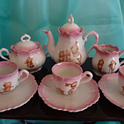 SALE Kewpie Porcelain Tea Set from Germany