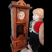 SALE German Oak Grandfather Clock