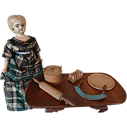 Wooden Utensils for Doll Kitchen or Room Box
