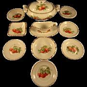 Porcelain Dessert Set