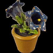 Vienna Bronze Miniature of Bluebells