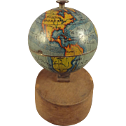 SALE Miniature World Globe on Stand