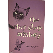 SOLD Flora Gill Jacobs book: Toy Shop Mystery