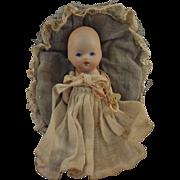 All Bisque Baby in Original Presentation Basket