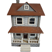 Schoenhut Two Story Dollhouse with Porch