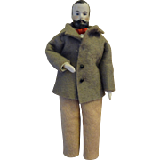 Doll House Man with Moustache 6""