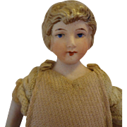 Doll House Lady with Sculpted Bun and Original Costume