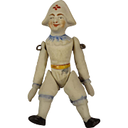 SALE All Bisque Jester with Pin Jointed Limbs