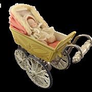 Marklin Doll Stroller Pram Carriage