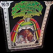 SALE Original Concert Poster Bill Graham Presents in San Francisco Janis Joplin 1969